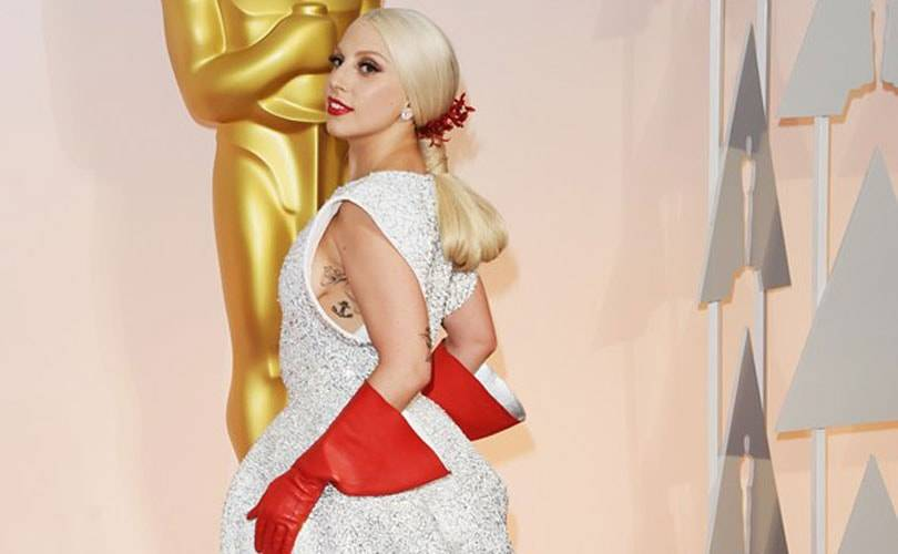 Oscars fashion: White and silver, and lots of beads