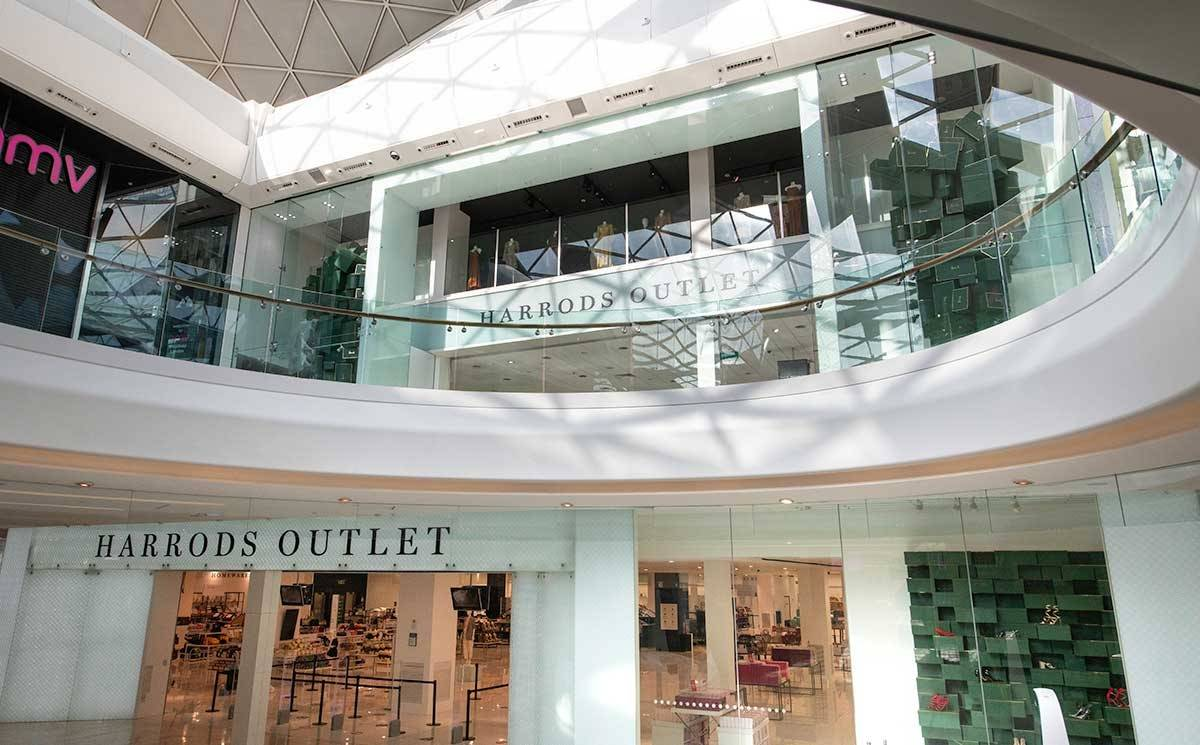 In pictures: Harrods opens Westfield outlet