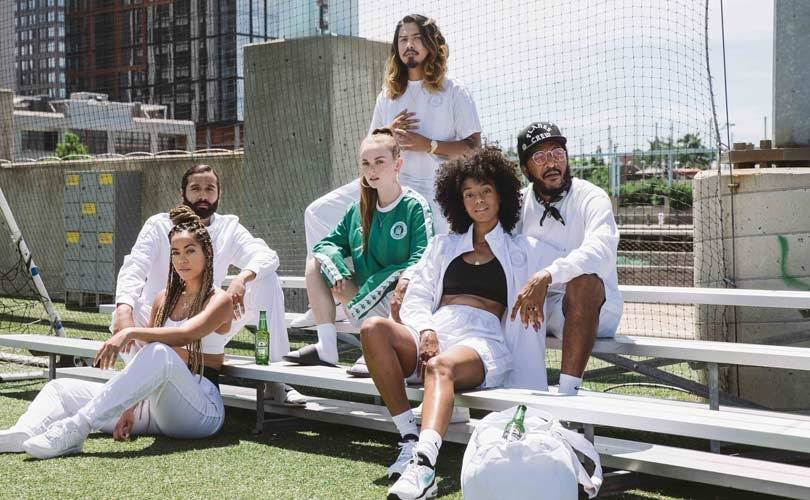 Heineken launches sportswear with Kappa