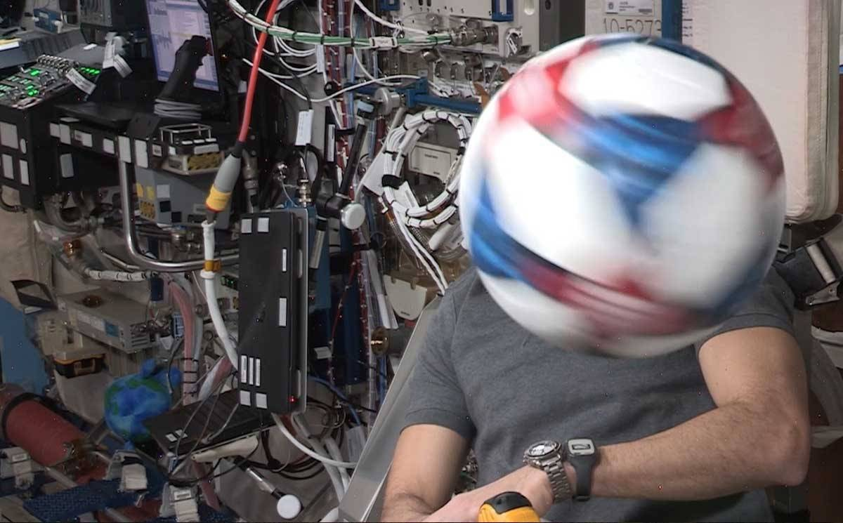 Adidas tests gravity's limits at the International Space Station