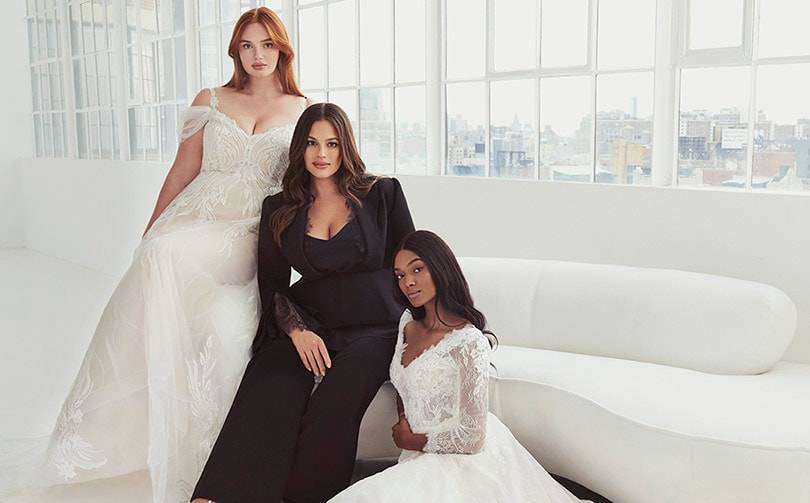 Pronovias launches an inclusive collection with Ashley Graham