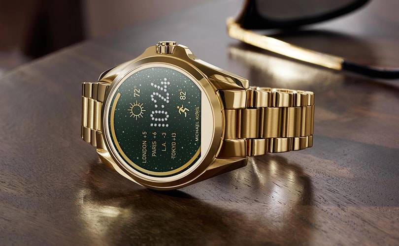 Michael Kors launches smartwatch collection