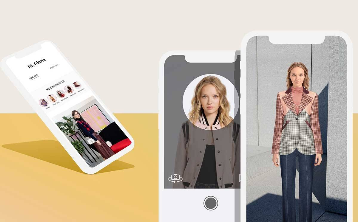 Yoox enhances virtual styling suite