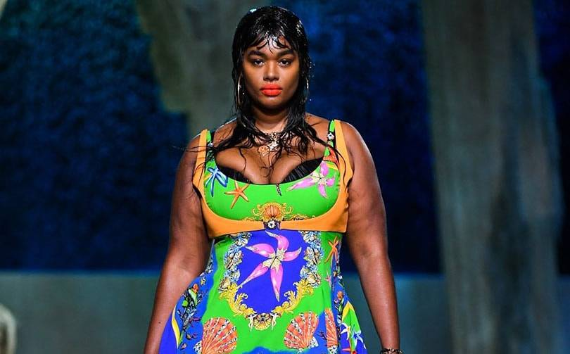 Versace embraces inclusivity with first runway casting using plus-size models