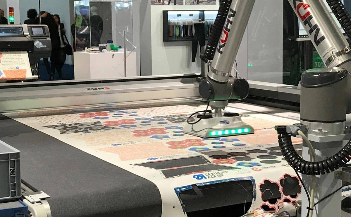 Record numbers at Techtextil: This is the future of production