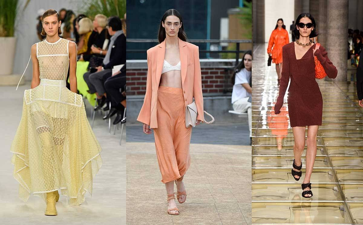 Spotted on the catwalks: Pantone's SS20 fashion colours