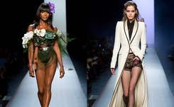 Jean Paul Gaultier: 'Bipolar' wedding-theme Paris haute couture show