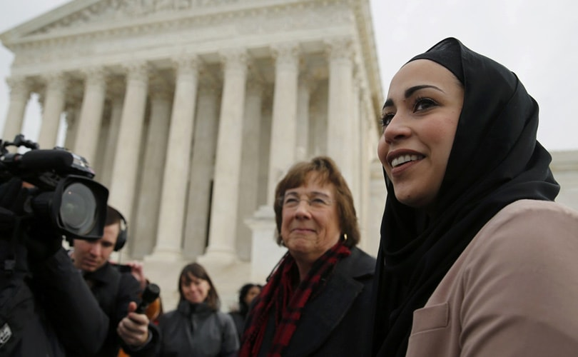 abercrombie muslim single women Muslim woman prevails against abercrombie & fitch for discrimination the us supreme court rules that the company cannot say a hijab violates company dress policy.