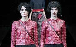 Emporio Armani abstains from capes during Milan Fashion Week