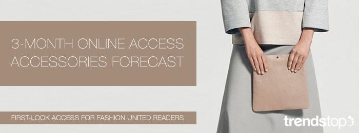 Fashion week Key Accessory on the Catwalk Womenswear Trend for FallWinter 2015-16 for lady