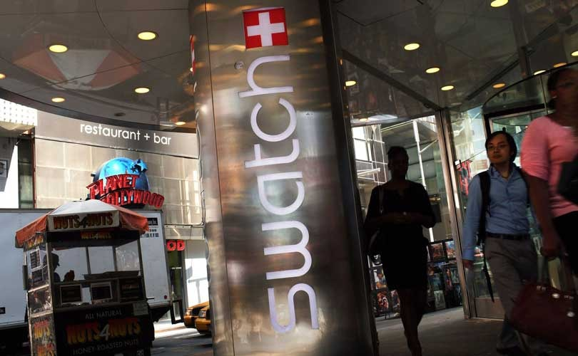 Swatch makes up for lost time with record sales