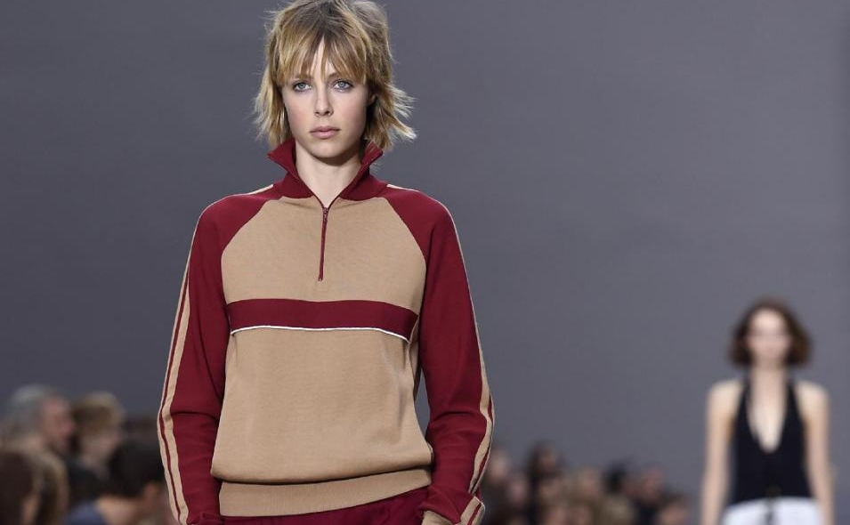 Hints of sportswear at Paris Fashion Week