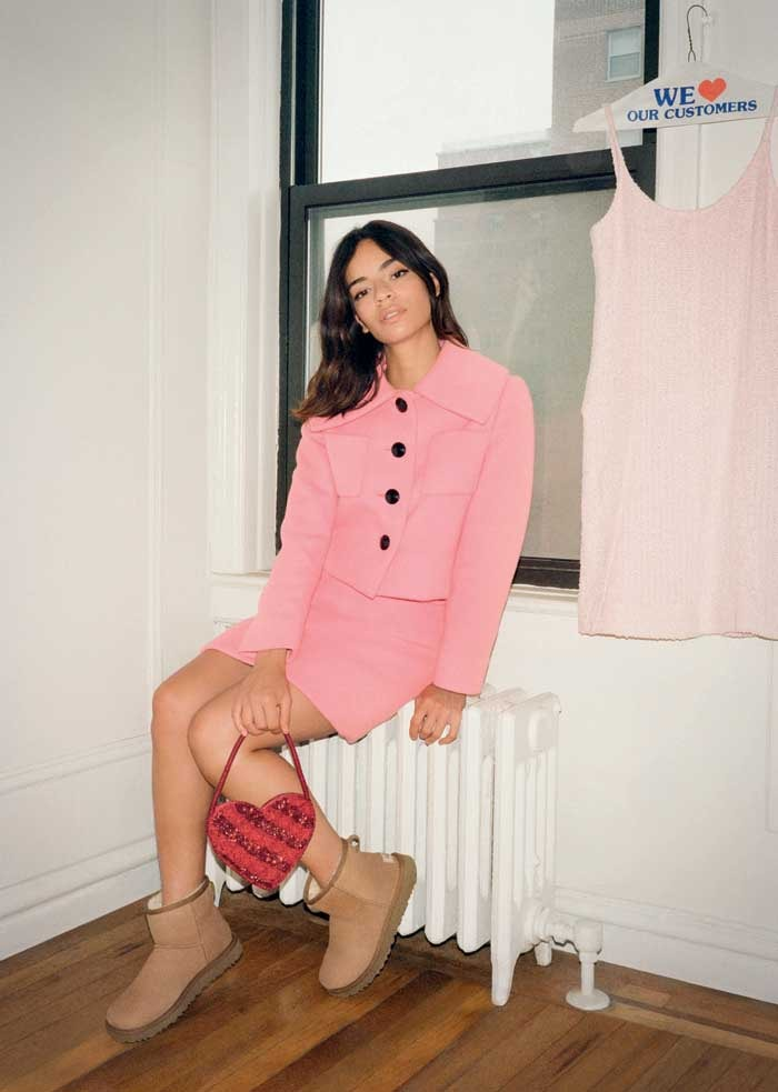 Ugg taps Alexa Chung for launch of classic boot 2.0