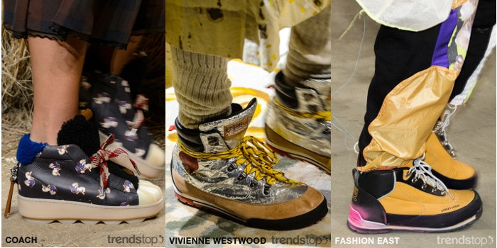 Fall Winter 2018-19 Key Footwear Concepts