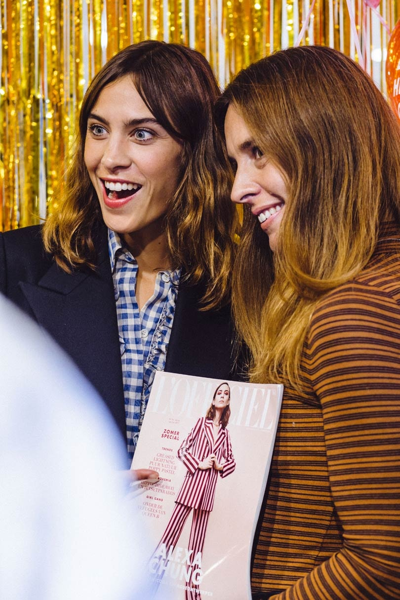 Alexa Chung on launching her label: 'Shit got real pretty quickly'