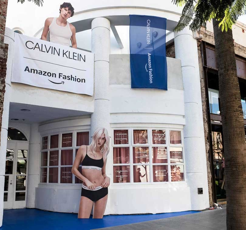 Calvin Klein partners with Amazon to launch exclusive holiday store