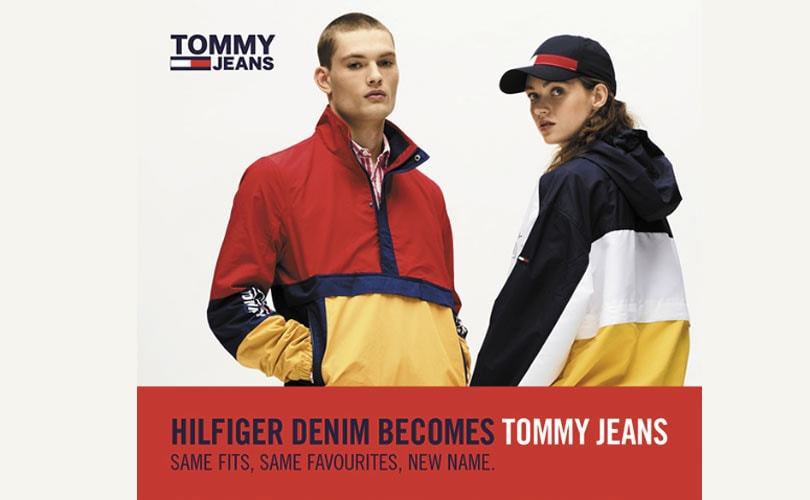 Say goodbye to Hilfiger Denim and hello to Tommy Jeans