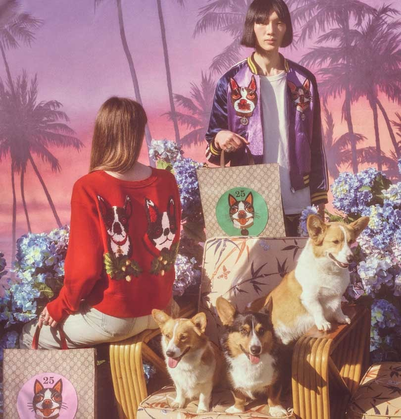 Gucci marks the Year of the Dog with a special capsule collection