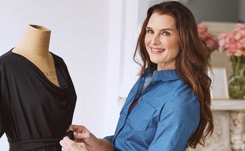 Brooke Shields launching fashion line with QVC