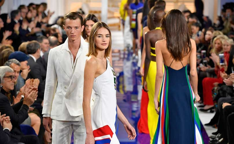 Jamaican escapism for Ralph Lauren on NY runway