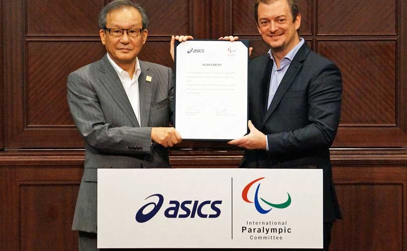 Asics to become official IPC supplier
