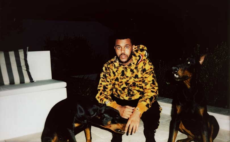 The Weeknd and A Bathing Ape team for capsule by Official Issue