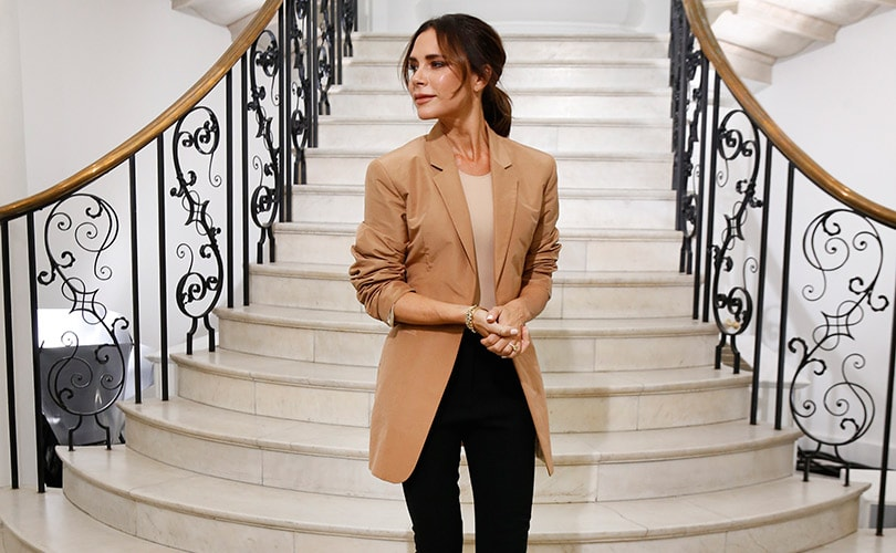 Victoria Beckham celebrates first decade at LFW