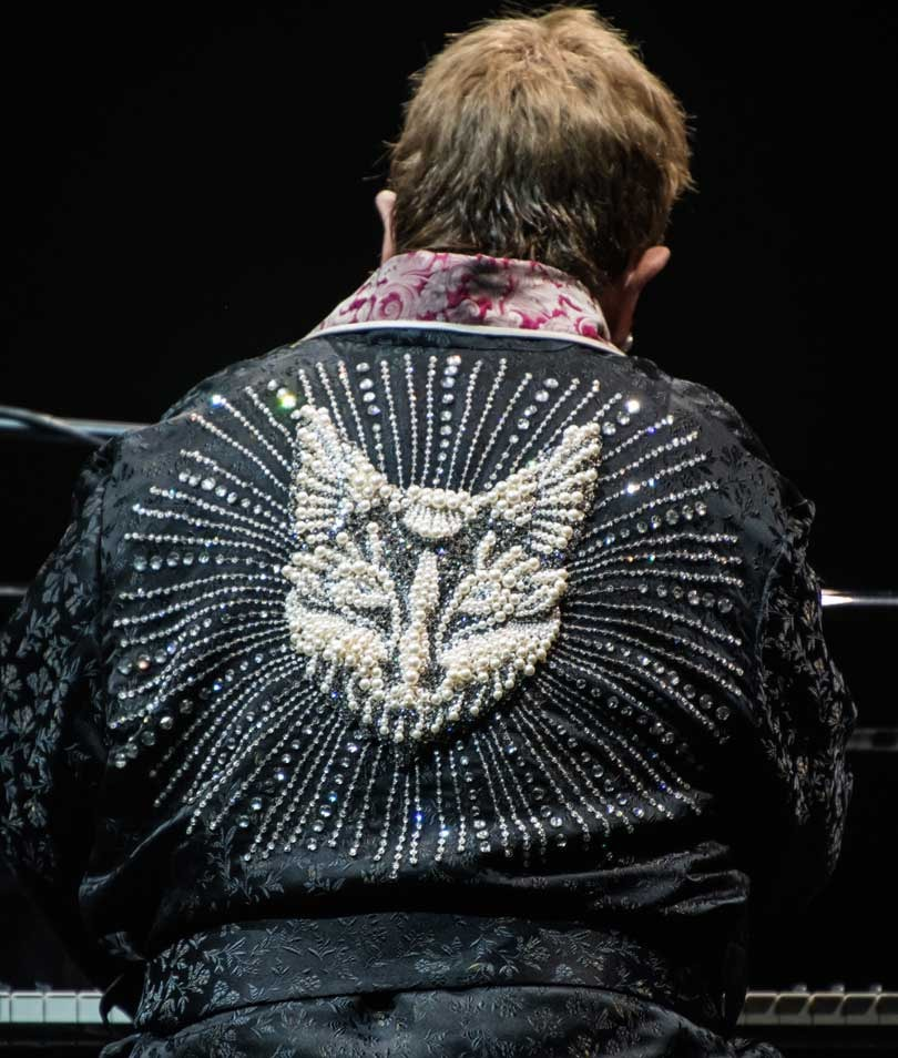 In pictures: Gucci designs outfits for Elton John's farewell tour
