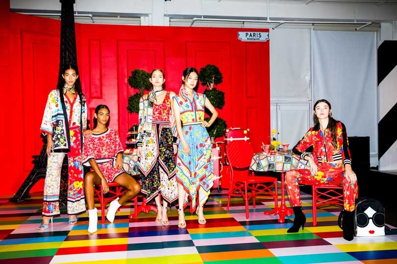 Alice + Olivia takes us around the world for NYFW