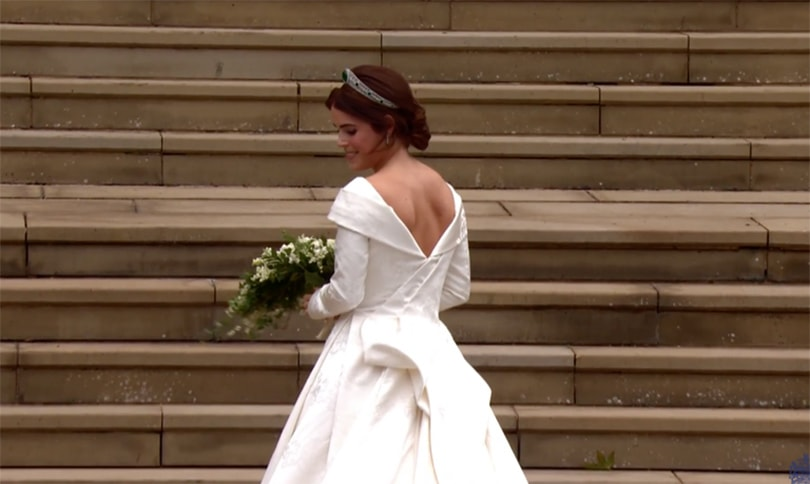 Princess Eugenie weds in Peter Pilotto