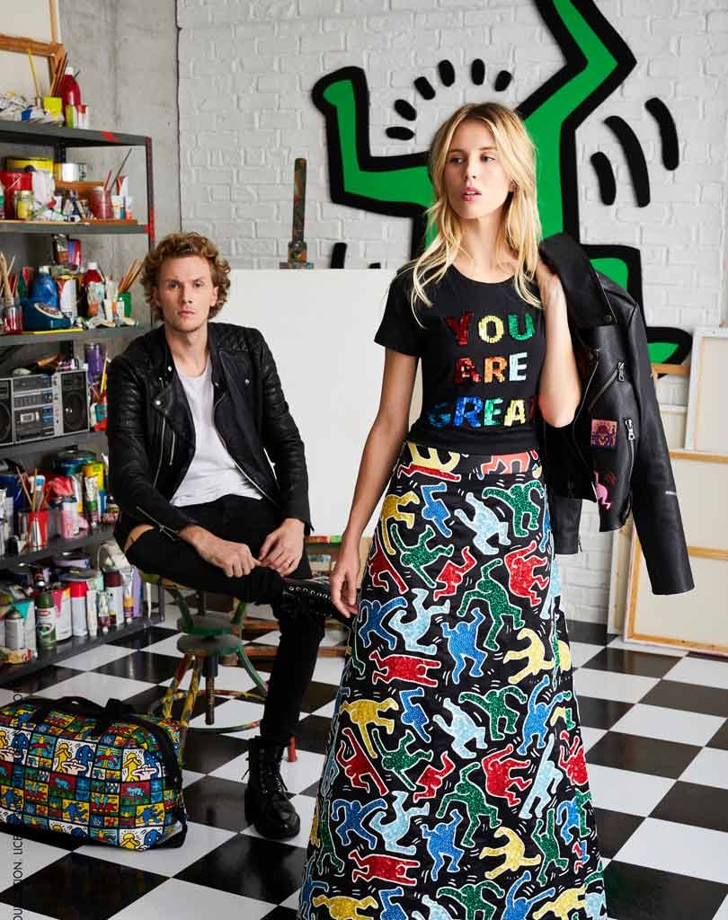 In Pictures: Keith Haring x Alice + Olivia