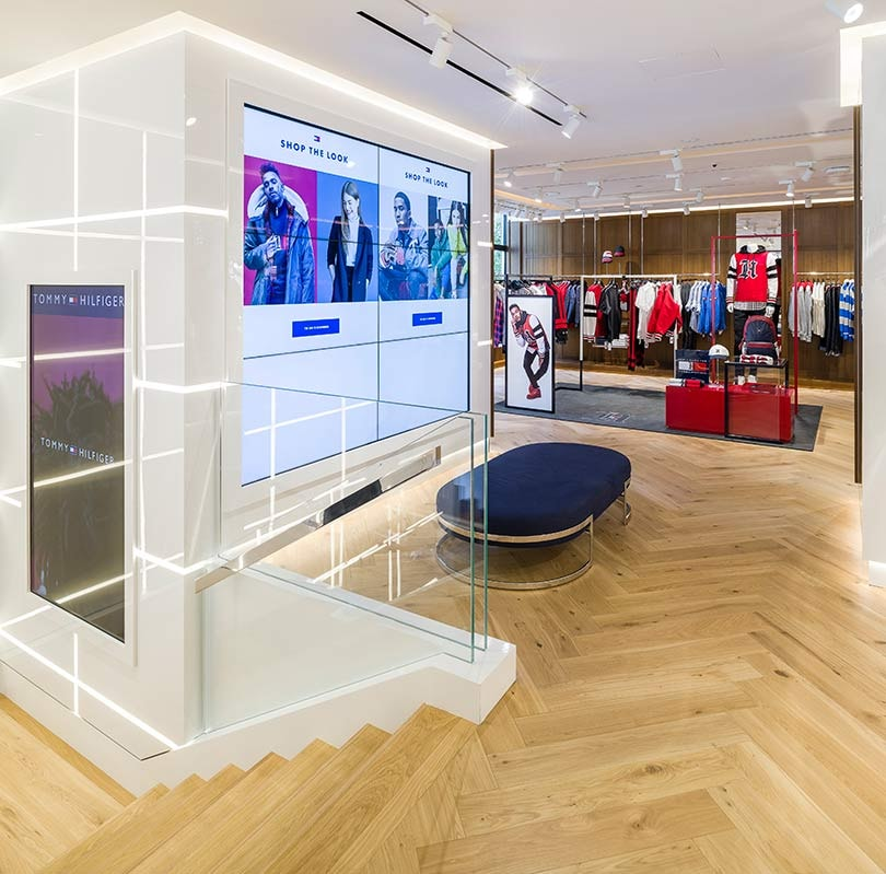 'The store of the future': Inside Tommy Hilfiger's Amsterdam store