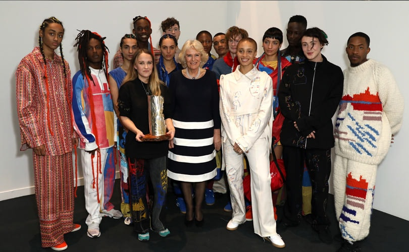 Bethany Williams awarded Queen Elizabeth II Award at LFW
