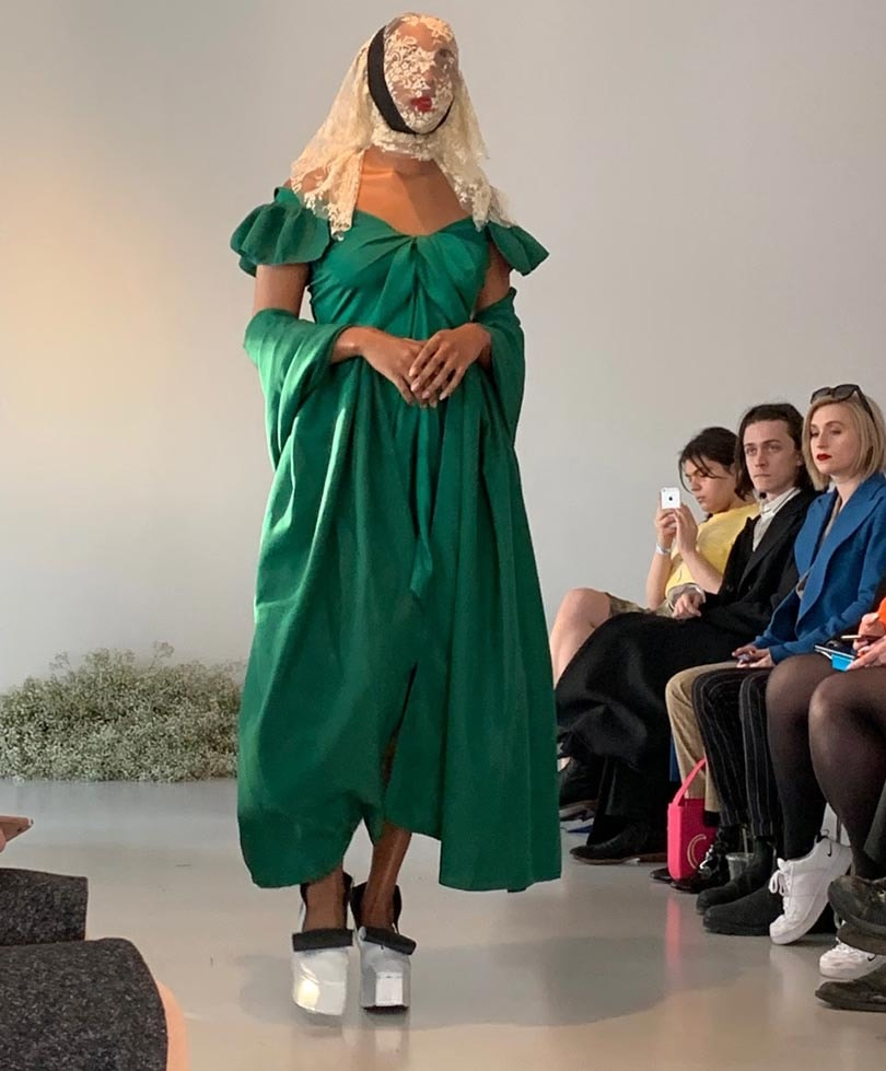 Gogo Graham's AW19 femme fatale is softly powerful