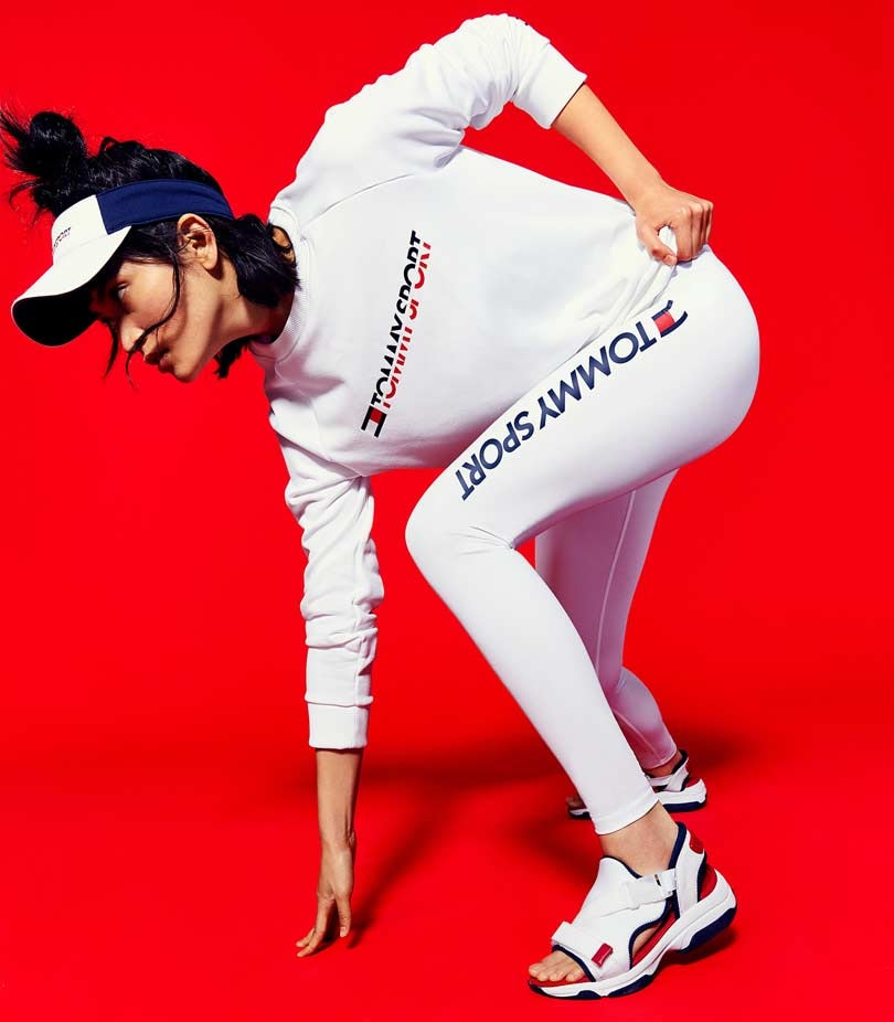 In pictures: Tommy Hilfiger launches Tommy sport, its first sportswear apparel line