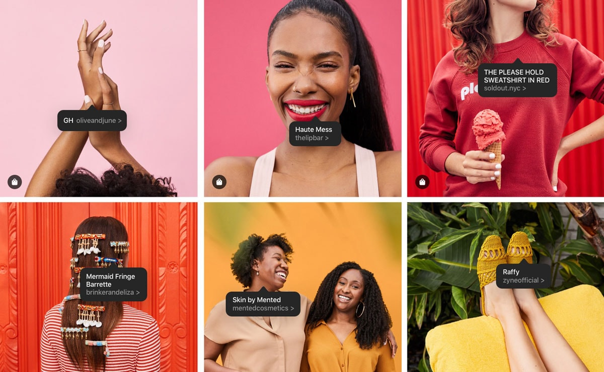 Instagram launches its own e-commerce account