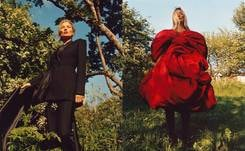 In pictures: Alexander McQueen taps Kate Moss for AW19 campaign