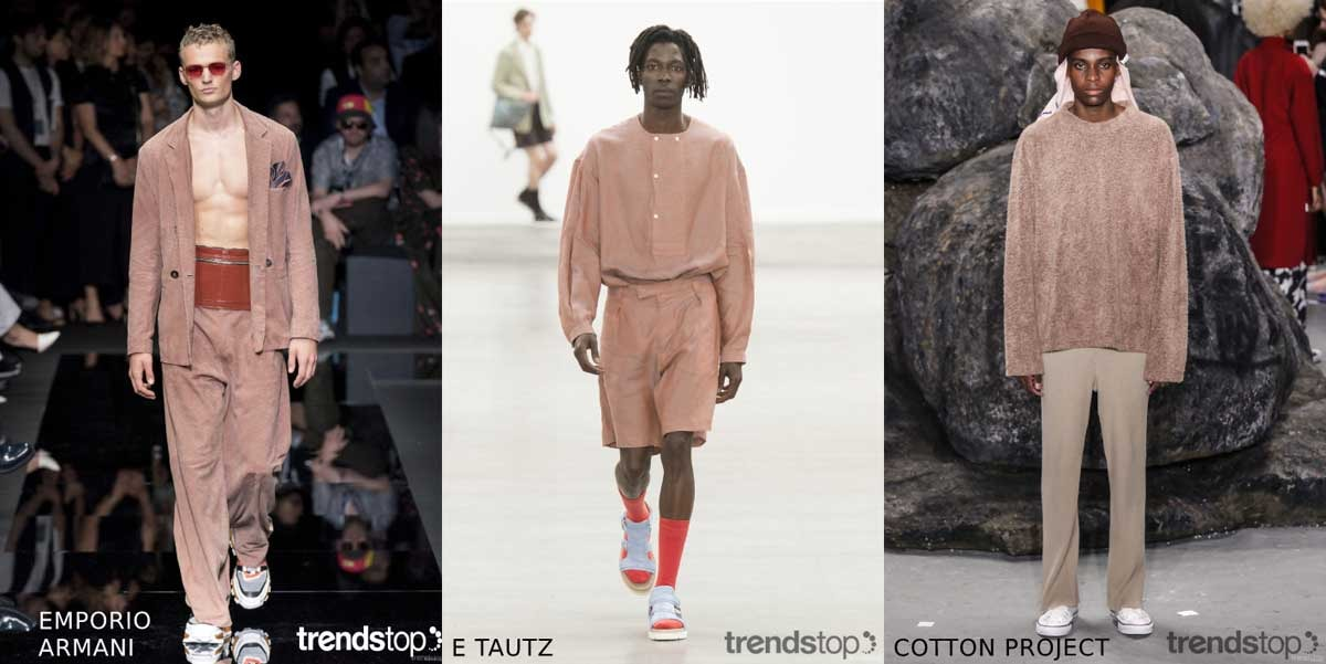 Key Menswear Colour on the Catwalks Spring Summer 2020