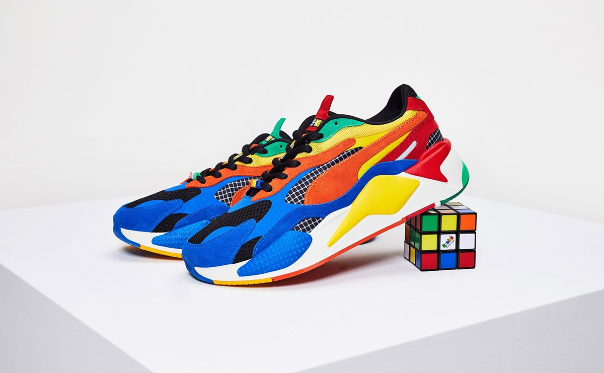 Puma announces new fall collaboration with Rubik's Cube