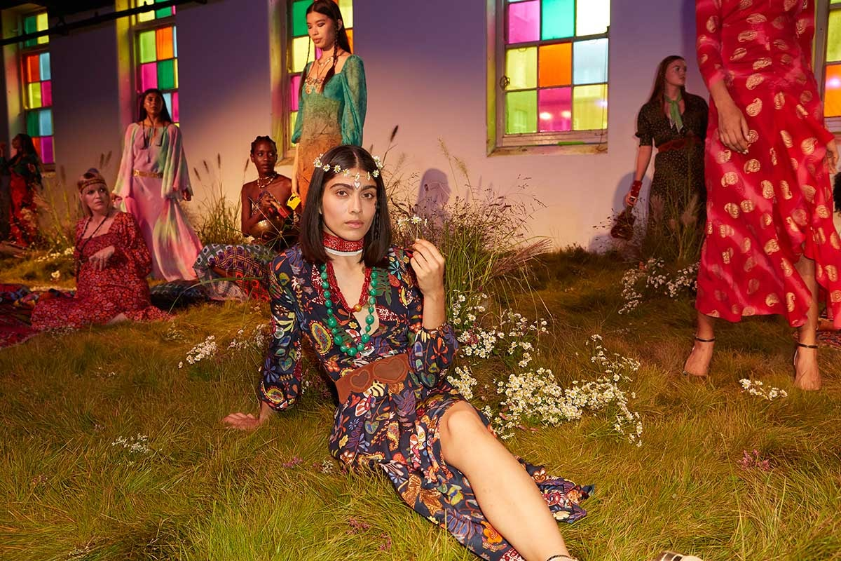 LFW SS20: Rixo - Back to the Garden