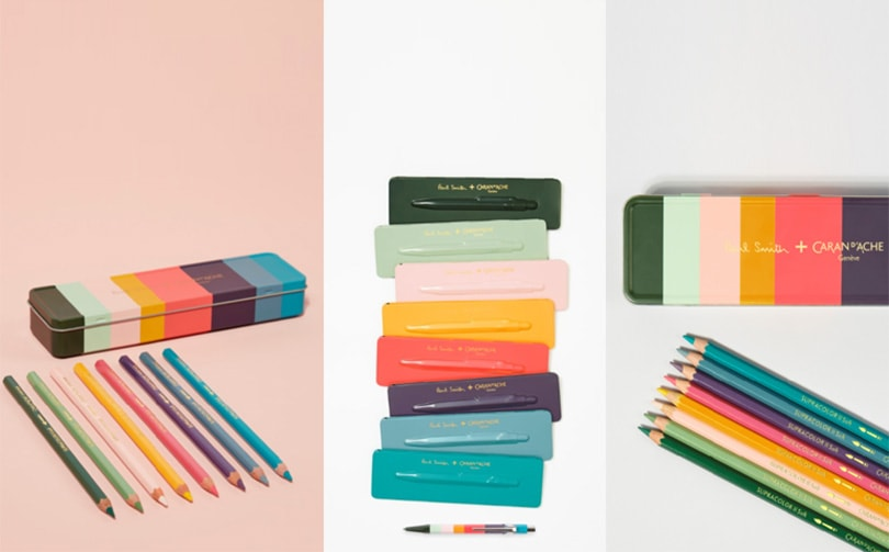 NOW LAUNCHED - CARAN D'ACHE + PAUL SMITH NEW COLLABORATION