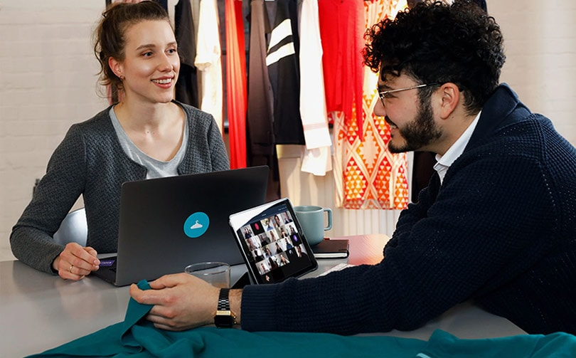 German content platform Fashion Cloud presents digital fair concept