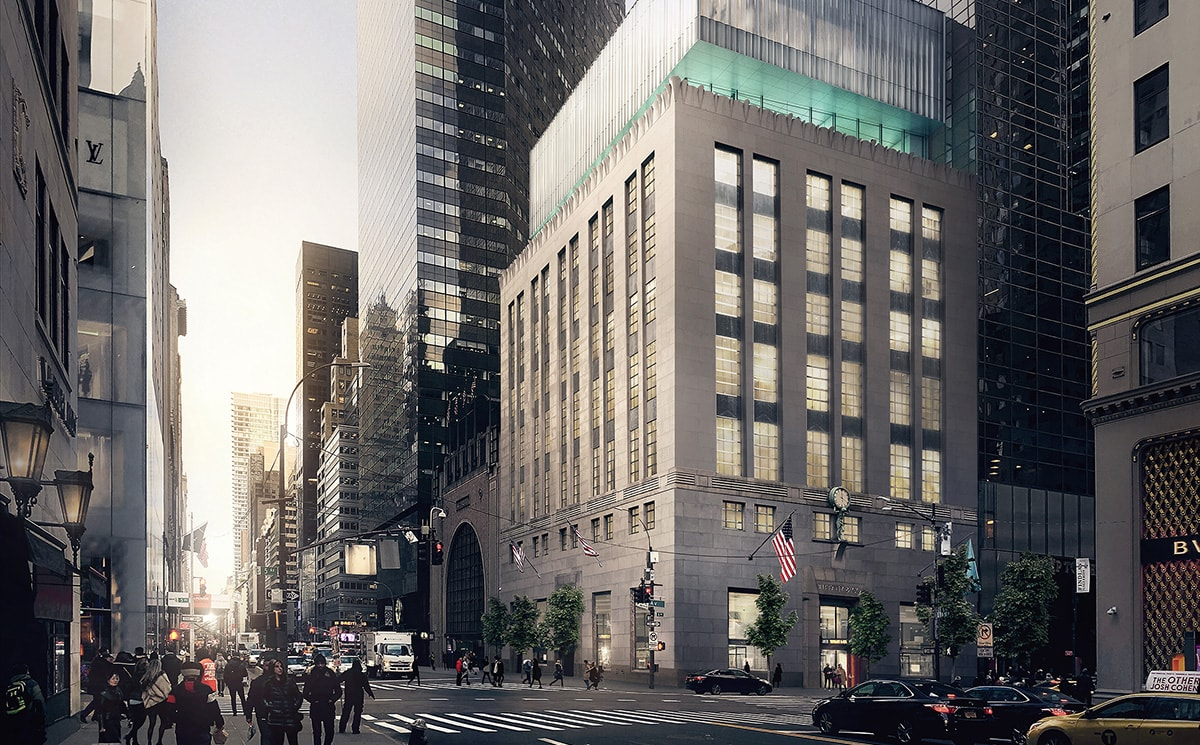 Tiffany & Co reveals renovation plans for Fifth Avenue flagship