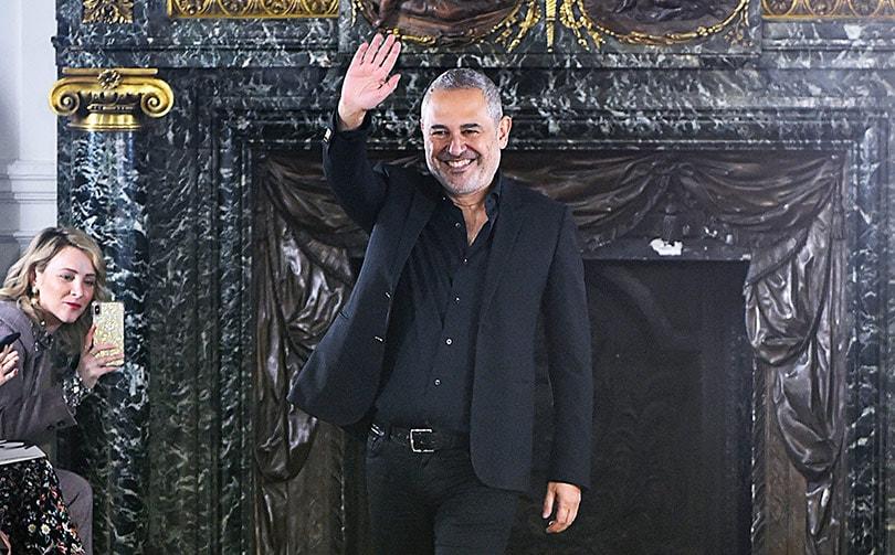 Elie Saab Makes Emotional Return To Demolished Beirut Home